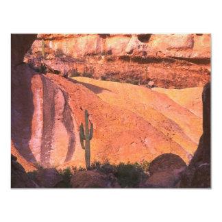 Desert Landscape 4.25x5.5 Paper Invitation Card