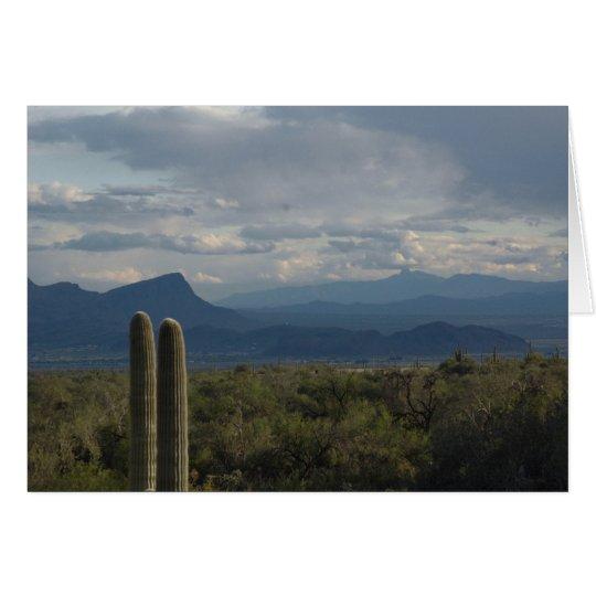 Desert Landscape Notecard