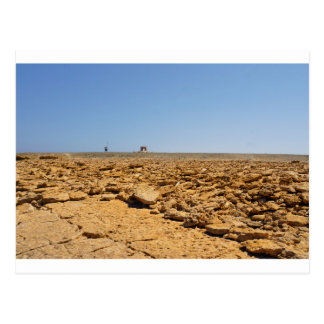 desert landscape postcard