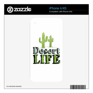 Desert Life Decal For The iPhone 4