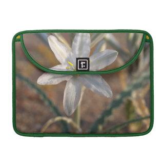 Desert Lily Wildflowers MacBook Pro Sleeve