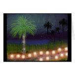 desert luminaria greeting cards