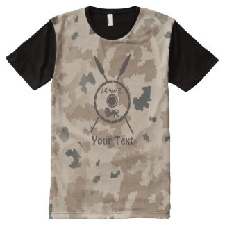Desert Maccabee Shield And Spears All-Over-Print T-Shirt