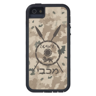 Desert Maccabee Shield And Spears Cover For iPhone 5