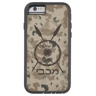 Desert Maccabee Shield And Spears Tough Xtreme iPhone 6 Case