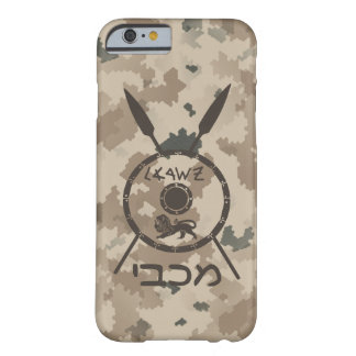 Desert Maccabee Shield And Spears Barely There iPhone 6 Case