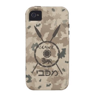 Desert Maccabee Shield And Spears iPhone 4/4S Covers