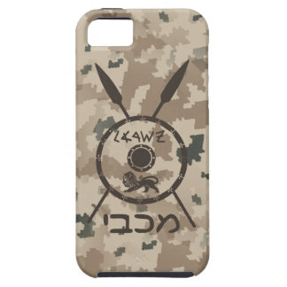 Desert Maccabee Shield And Spears iPhone 5 Cover