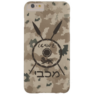 Desert Maccabee Shield And Spears Barely There iPhone 6 Plus Case
