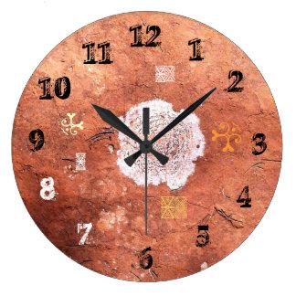 Desert Marks Australia Round (Large) Wall Clock Clock