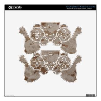 Desert MARPAT PlayStation 3 Controller Skin Decal For PS3 Controller