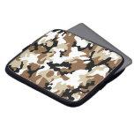 Desert Military Camo Computer Sleeve Case