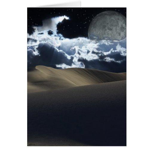 Desert Moon Card