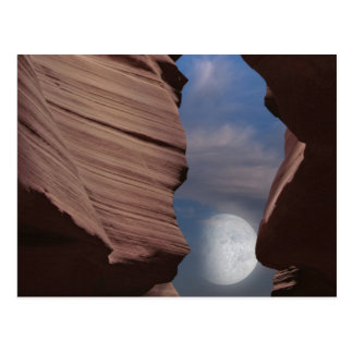 Desert Moon Postcard