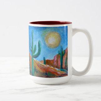 Desert Moon Two-tone Mug