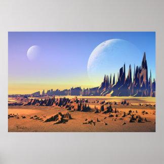 Desert moons posters