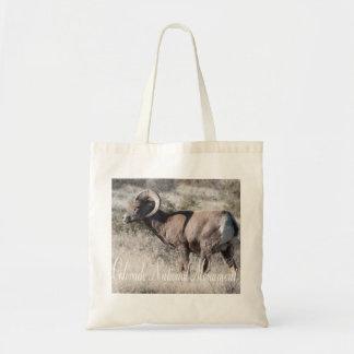 Desert Mountain Sheep in Colorado Ntl. Mont. Tote Bag