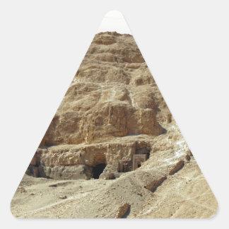 desert mountains triangle sticker