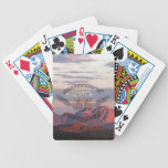 Desert Mountains with logo Bicycle Poker Cards