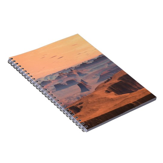 Desert of Ode Planet Kytherial SciFi Notebook
