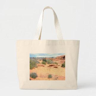 Desert of Red Sand Tote Bag