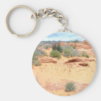 Desert of Red Sand Key Chains