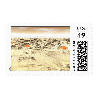 Desert Orbs Postage