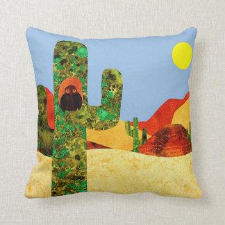 Desert Owl 2 Pillow