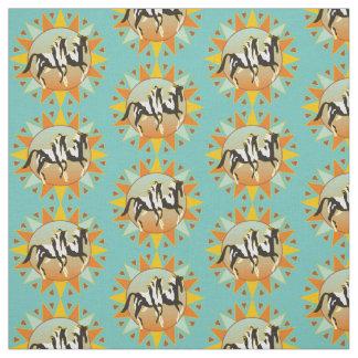 Desert Paints Combed Cotton Fabric