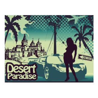 Desert paradise postcard