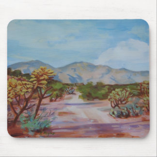 'Desert Path' Mouse Pad