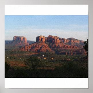 Desert Peace, Sedona Arizona Poster