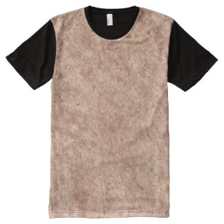 Desert Pink Stone Pattern Background All-Over-Print T-Shirt