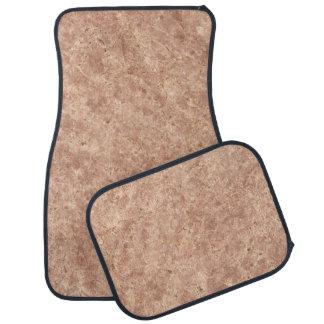Desert Pink Stone Pattern Background Car Floor Mat