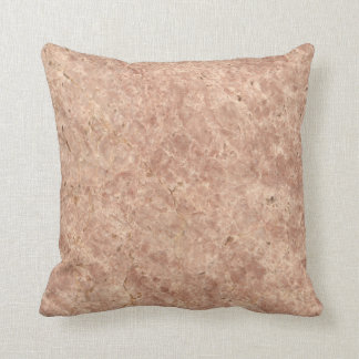 Desert Pink Stone Pattern Background Pillow