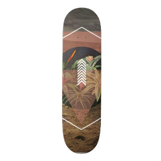 Desert Plants Skateboard