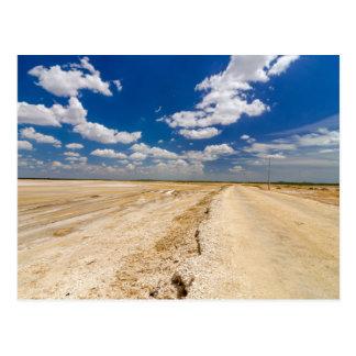 Desert postcard of the Guajira, Colombia