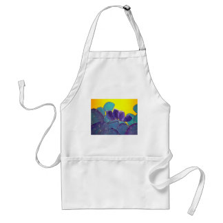 Desert Prickly Pear with Fruit Adult Apron