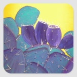 Desert Prickly Pear with Fruit Stickers
