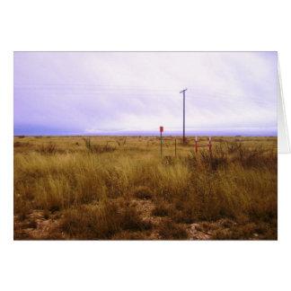 Desert Progress Card