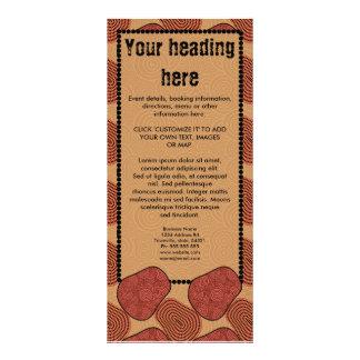 Desert, rack card