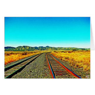Desert Rails Card