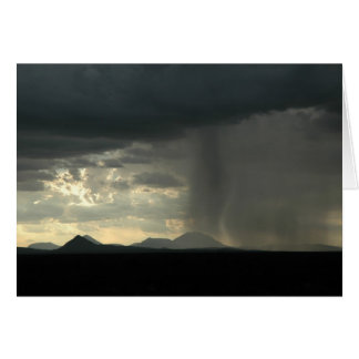 Desert Rain Card