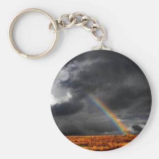 Desert Rainbow Keychain