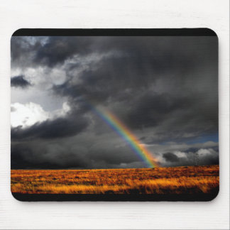 Desert Rainbow Mouse Pad