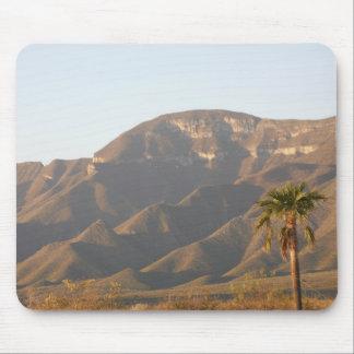 Desert ranch landscape near Monterey, Mexico. Mouse Pad