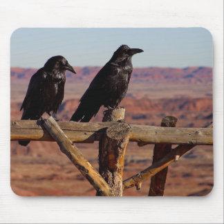 Desert Raven Mouse Pad