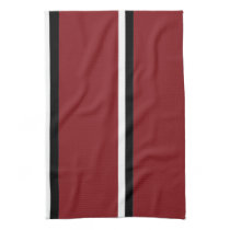 Desert Red Bird II Kitchen Towel