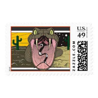 Desert Reptiles Postage