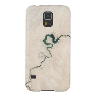 Desert River Aerial Crack Case For Galaxy S5
